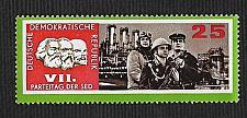 Buy German DDR Hinged Scott #907 atalog Value $.25