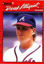 Buy Derek Lilliquist #286 - Braves 1990 Donruss Baseball Trading Card