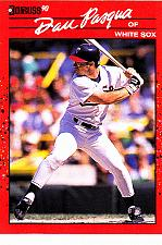 Buy Dan Pasqua #176 - White Sox 1990 Donruss Baseball Trading Card