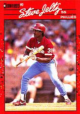 Buy Steve Jeltz #133 - Phillies 1990 Donruss Baseball Trading Card