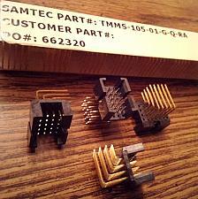 Buy Lot of 23: Samtec TMMS-105-01-G-Q-RA