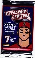 Buy Panini Triple Play 2013 Baseball Cards Factory Sealed Pack