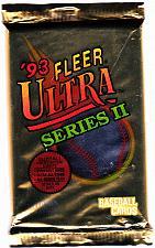 Buy Fleer Ultra Series II 1993 Baseball Cards Factory Sealed Pack