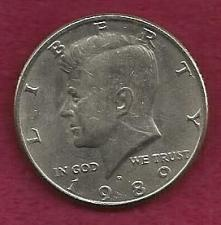 Buy US 50 Cents (Kennedy Half Dollar) 1989 D