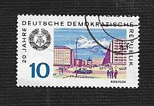 Buy Germany DDR Used Scott #1129 Catalog Value $.25