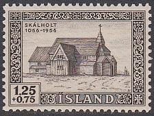 Buy [ICB015] Iceland: Sc. No. B15 (1956) MNH