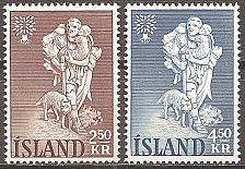 Buy [IC0325] Iceland: Sc. No. 325-326 (1960) MNH Full Set