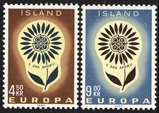 Buy [IC0367] Iceland: Sc. No. 367-368 (1964) MNH Full Set