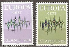 Buy [IC0439] Iceland: Sc. No. 439-440 (1972) MNH Full Set