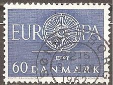 Buy [DE0379] Denmark: Sc. no. 379 (1960) Used Single