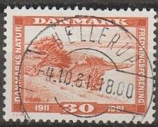 Buy [DE0381] Denmark: Sc. no. 381 (1961) Used Single