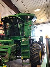 Buy 1998 John Deere 9510 Sidehill Combine
