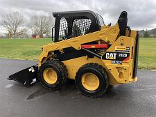 Buy 2018 Caterpillar 242D Skid Steer