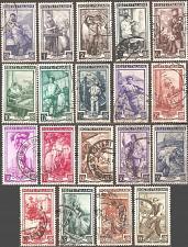 Buy [IT0549] Italy: Sc. no. 549-567 (1950) Used Full Set