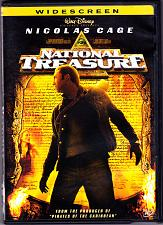 Buy National Treasure DVD 2005 Widescreen - Good