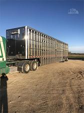 Buy 2016 EBY 53' Triple Deck Bull Ride Livestock Trailer