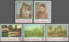 Buy [RO2468] Romania: Sc. no. 2468-2472 (1972) CTO