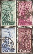 Buy [ITC123] Italy: Sc. no. C123-C126 (1948) Used Complete Set