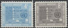 Buy [UN0083] UN NY: Sc. No. 83-84 (1960) MNH Full Set