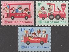 Buy [UN0161] UN NY: Sc. No. 161-163 (1969) MNH Full Set