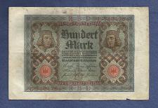 Buy GERMANY 100 Mark 1920 Banknote E7404764 - Weimar Republic - Bamberg Horsemen