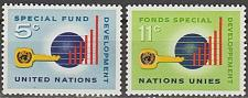 Buy [UN0137] UN NY: Sc. No. 137-138 (1965) MNH Full Set