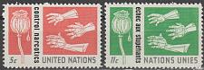 Buy [UN0131] UN NY: Sc. No. 131-132 (1964) MNH Full Set