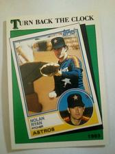 Buy 1988 TOPPS NOLAN RYAN #661TURN BACK THE CLOCK SHARP AND FRESH!