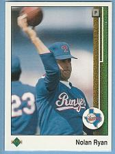 Buy 989 Upper Deck #774 Nolan Ryan Texas Rangers Baseball Card