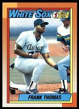 Buy 1990 Topps Frank Thomas RC Rookie #414 White Sox Mint
