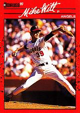 Buy Mike Witt #580 - Angels 1990 Donruss Baseball Trading Card