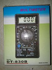 Buy AC/DC Ammeter Voltmeter Ohm Electrical Digital Multimeter