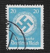 Buy German Used Scott #O88 Catalog Value $1.50