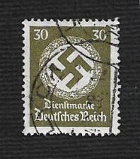 Buy German Used Scott #O89 Catalog Value $1.50