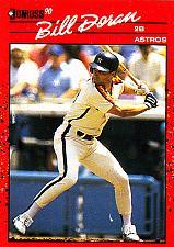 Buy Bill Doran #236 - Astros 1990 Donruss Baseball Trading Card