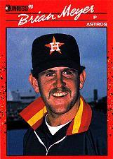 Buy Brian Meyer #648 - Astros 1990 Donruss Baseball Trading Card