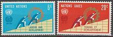 Buy [UN0199] UN NY: Sc. No. 199-200 (1969) MNH Full Set