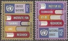 Buy [UN0192] UN NY: Sc. No. 192-193 (1969) MNH Full Set