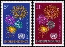 Buy [UN0168] UN NY: Sc. No. 168-169 (1967) MNH Full Set