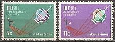 Buy [UN0141] UN NY: Sc. No. 141-142 (1965) MNH Full Set