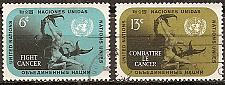 Buy [UN0207] UN NY: Sc. No. 207-208 (1970) Used Full Set