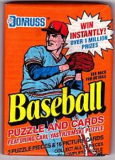 Buy Donruss 1990 Baseball Cards Factory Sealed Pack