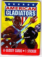 Buy American Gladiators 1991 Nonsports Cards Factory Sealed Pack