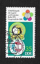 Buy Germany DDR Used Scott #1481 Catalog Value $.25