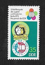 Buy German DDR Hinged Scott #1481 Catalog Value $.25