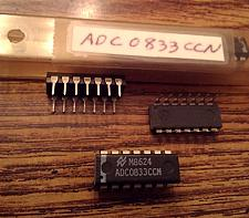 Buy Lot of 5: National Semiconductor ADC0833CCN