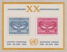 Buy [UN0145] UN NY: Sc. No. 145 (1966) MNH Miniature Sheet