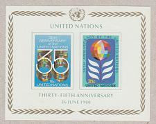 Buy [UN0324] UN NY: Sc. No. 324 (1980) MNH Miniature Sheet