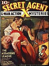 Buy Secret Agent X 31 Issue Pulp Collection Free Shipping