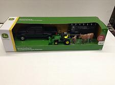 Buy John Deere Pickup Animal Hauling Set Includes Animals, Ages 8+